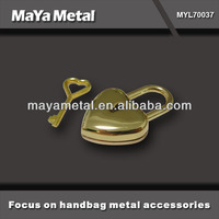 MaYa Metal fashion metal locks for purses hardware MYL70037