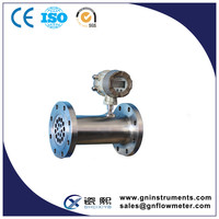 China supplier tri-clamp flow meter, co2 gas flow meter, natural gas flow meters price