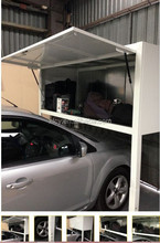 anyhome car port over car bonnet storage/ car park storage boxes (ISO SGS TUV approved)