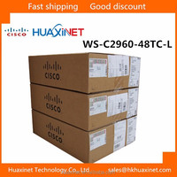 Hot sell Catalyst 2960 48port switch Cisco switch WS-C2960-48TC-L