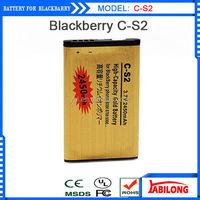 2450mAh High Capacity CS-2 Gold Business Battery for Blackberry battery C-S2 8300 9300