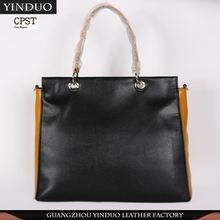 Hot Design Leather Branded Women'S Handbags With Logo