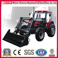 Famous brand YTO 15hp to 70hp 75hp to 130hp mini tractors with front end loader