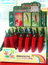 hot Pepper ballpoint pen wholesale Children pen toy vegestable pen
