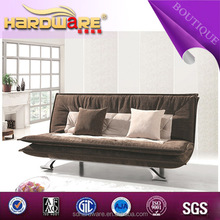2014 Fashion hot sale brown multifunction sofa for three seats
