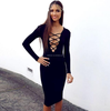 Sexy bodycon bandage dress 2015 ball gown african evening dresses 2015