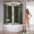 Hydro hs-sr1212x de masaje de ducha de cabina, de vapor moderna sala de ducha con masaje de pies