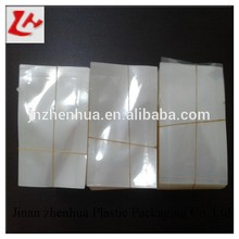 laminated Three side seal vacuum bag for pack food