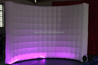 cheap white inflatable cube photo booth