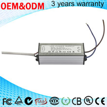 60w 70w waterproof led driver for outdoor led light 1.5A PF > 0.95 led power supply with CE SAA TUV 3 YEARS warrenty