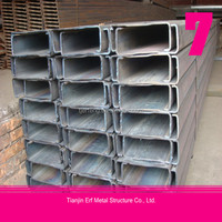 Tianjin High quality C section steel purlin, steel building use