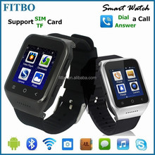 Perfect Wearable WIFI, Email, Dual Core, best selling watch phone waterproof