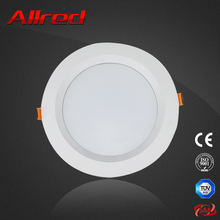 Output luminous flux 560lm round led downlight