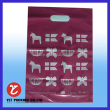 china suppliers HDPE/LDPE handle plastic bag shopping bag