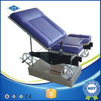 operating obstetric birthing table delivery bed