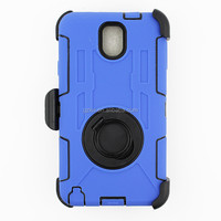 2015 High impact holster rugged armor PC+Silicone defender case for Samsung Galaxy Note 3 with 360 degree rotate kickstand