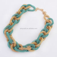 N901 Fashion Necklace wholesale china yiwu market hot new products thick chain necklace gold necklace jewelry free shipping