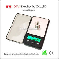 New design plastic digital weighing scale with backlight