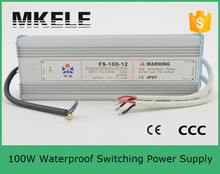 FS-100-48 100 watt waterproof led power supply mingwei 100w led switching power supply 100w metal case power supply for led