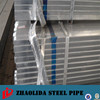 GI Hollow Section Tube/ Pre-galvanized Square Pipe/ ASTM A500 Gr.A galvanized Pipe