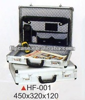 2013 hot selling and hard shell laptops and document case wih foam and sponge inside