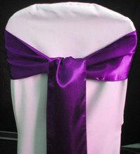 2015 New fashion design spandex chair sash with buckle