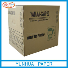 Common recyclable black printing kraft paper gift box