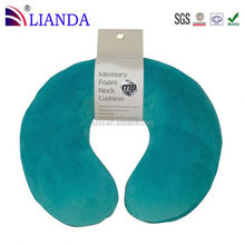 Elástica fácilmente conecta a telescópico mango de viaje para fácil transporttravel almohada para el cuello