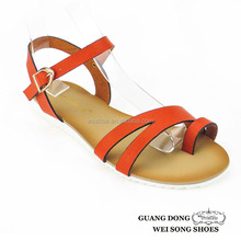 ankle buckle design adjustable thin strap thong women sandals best price women shoes