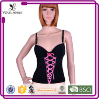 Short Deliverty Time Fantasy Slimming Lace Up Steel Bone Waist Training Corset