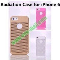 Radiation Proof Heat Sink Cooling Case for iPhone 6 with Cooling holes