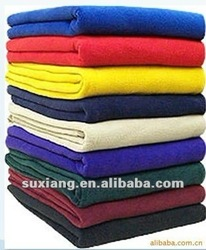 Stock Super Soft 100% Polyester Polar Fleece Blanket