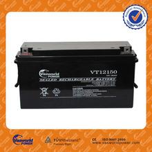 wholesale price Asia Indonesia Pakistan maintenance free vrla gel battery 12v150ah for ups