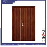 Standard size quality wooden fire rated pocket door
