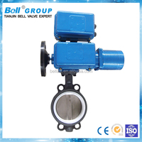 motorized actuator wafer type butterfly valve price