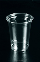 Cheap Disposable 16oz Plastic PET milk shake cup cold coffee cup beverage cup