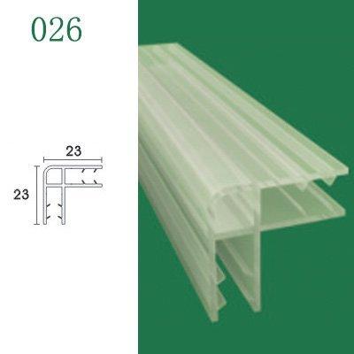 Ducha junta de la puerta para vidrio puertas de ducha y baño - modelo 026