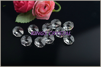 High quality 14mm clear color crystal chandelier octagons beads in pendant lights crystal beads