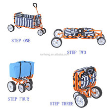 Folding Beach Wagon And Handcart