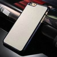 2015 Best Selling China Alibaba Sales Crazy horse soft leather back case for iphone 6 plus
