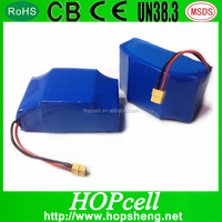 HOPcell10S2P 36V 4.4Ah li ion battery for two wheel self balancing scooter/ electric unicycle scooter/mobility