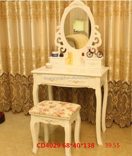 Fashionable hot sell art deco dressing table mirror for girls