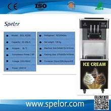 wholesale factory price 2+1mixed flavours mobile soft ice cream machine