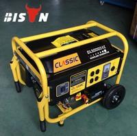 BISON CHINA Taizhou 4kw Strong Frame Portable generador electrico gasolina