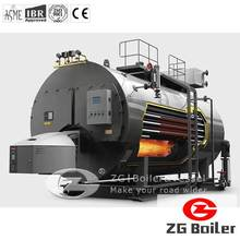 WNS oil gas fired boiler industrial types of fire tube boiler