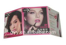 Cosmetic promotional catalogue/booklet/leaflet printing 2012