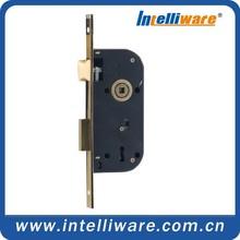 Household anti-theft door lock