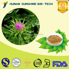 Silymarin CAS:65666-07-1/Powder Form And Herbal Extract/For Antioxidant