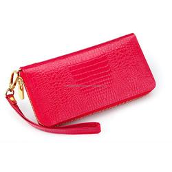 fashion designer PU genuine leather wallet/lady wallet