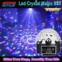 Led Professional Lighting Crystal Ball Led Rotating Stage Lighting